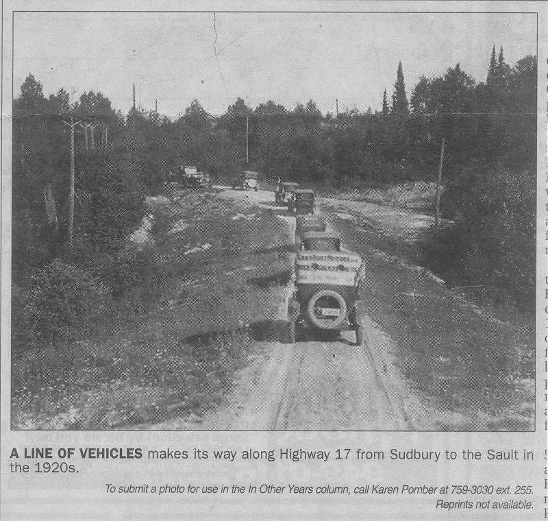 Old Highway 17 1920's