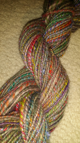 600 thick skein colored